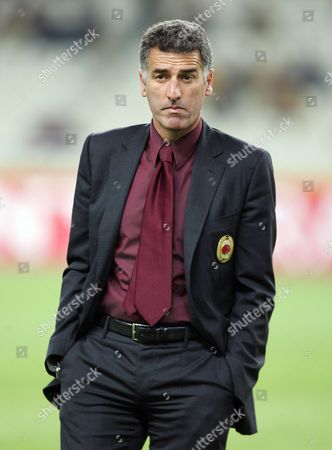 AC Milan assistant manager Mauro Tassotti