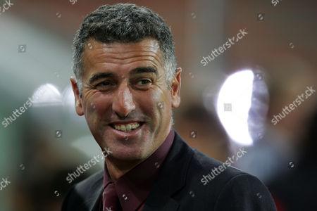 AC Milan assistant coach Mauro Tassotti