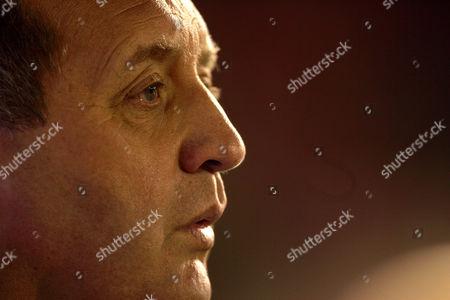 Manager Jimmy Calderwood of Aberdeen