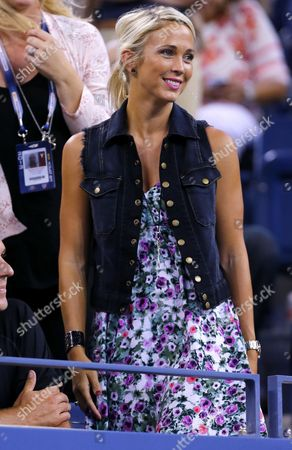 Bec Hewitt of Australia Smiles at the Us Open 2013 United States New York
