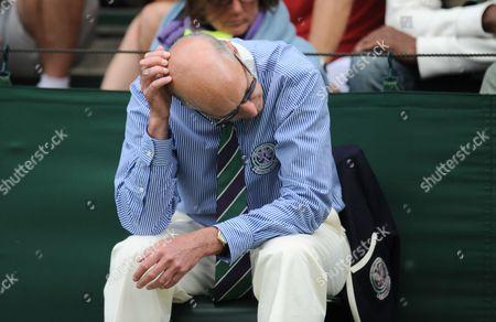 Editorial image of Wimbledon - Day One - 25 Jun 2012