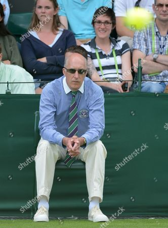 Editorial picture of Wimbledon - Day One - 25 Jun 2012