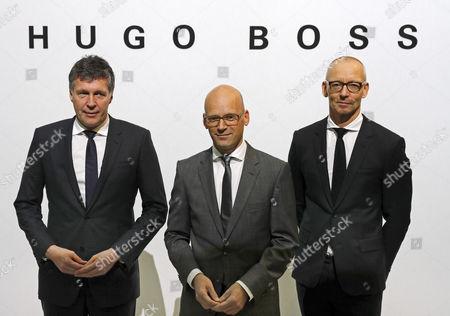 Mark Langer, Ingo Wilts and Bernd Hake