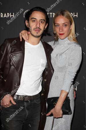 Ricky Saiz and Chloe Sevigny