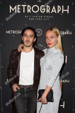 Stock Picture of Ricky Saiz and Chloe Sevigny