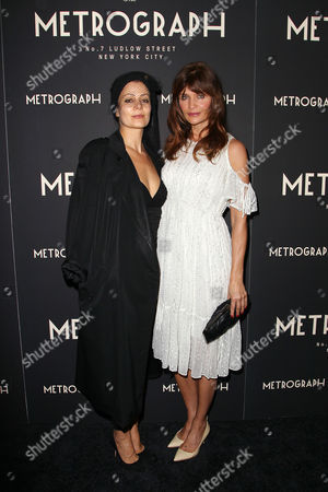 Stock Picture of Camilla Staerk and Helena Christensen