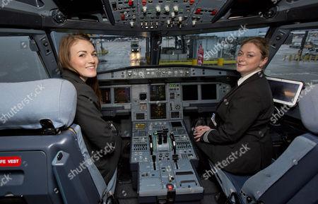 Editorial image of Easyjet celebrates International Women's Day, UK - 08 Mar 2017