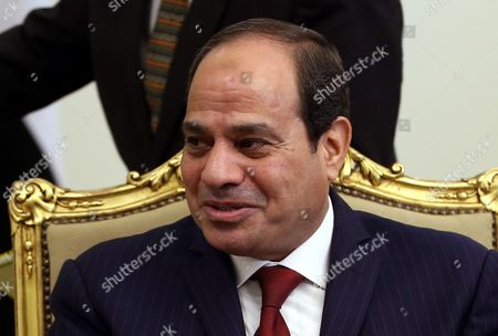 Egyptian President Abdel Fattah Al-sisi Looks on During a Meeting with Spanish Foreign Minister Jose Manuel Garcia Margallo (not Pictured) in Cairo Egypt 22 October 2016 Garcia-margallo is on Official Visit to Egypt For Two Days Egypt Cairo