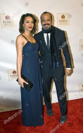 Jeffery Wright and Carmen Ejogo
