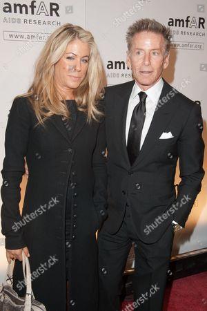 Calvin Klein and Marci Klein