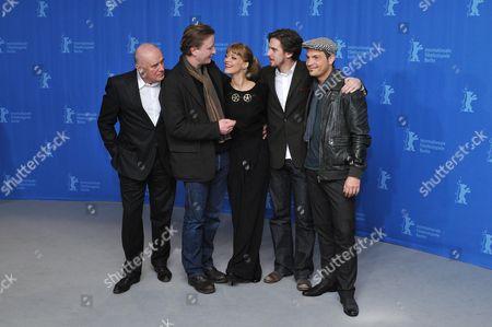 Hans Zischler, Kai Wessel, Heike Makatsch, Dan Stevens and Roger Cicero
