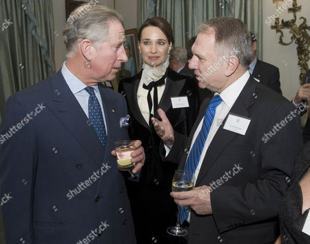 Prince Charles with the High Comissioner for Australia and Former Press Officer to HRH John Dauth