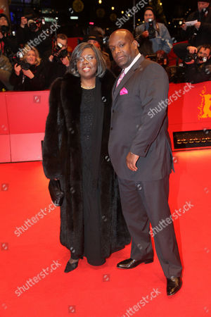 Stock Image of Voletta Wallace and Wayne Barrow