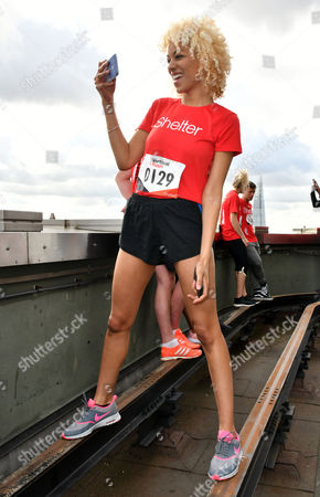 Editorial picture of Vertical Rush celebrity tower-running, London, UK - 09 Mar 2017