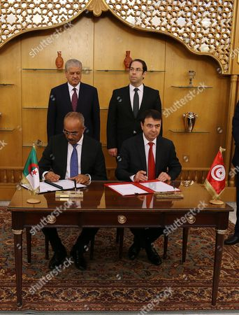 Editorial picture of Tunisian Algerian high joint commission in Tunis, Tunisia - 09 Mar 2017