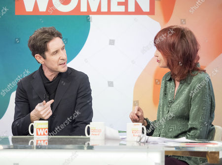 Paul McGann and Janet Street-Porter