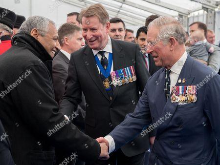 Prince Charles meets Mr Khaled Al-Duwaisan, Kuwaiti Ambassador to the UK