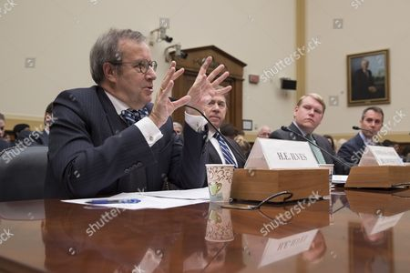 Editorial picture of House Foreign Affairs Committee hearing on Undermining Democratic Institutions and Splintering NATO - Russian Disinformation Aims, Washington, USA - 09 Mar 2017