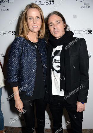 Stock Image of Suzy Biszantz and Joe Dahan