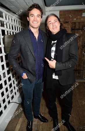 Stock Photo of Thom Evans and Joe Dahan