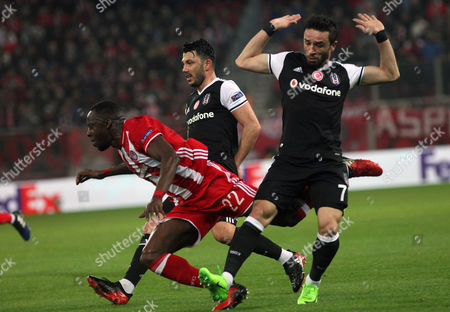 Editorial picture of Olympiacos vs Besiktas, Athens, Greece - 09 Mar 2017