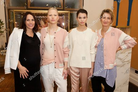 Jessica McCormack and Zoe Jordan with Models