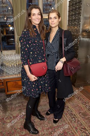Editorial image of Zoe Jordan and Jessica McCormack's Cashmere Diamonds and Champagne event, London, UK - 09 Mar 2017
