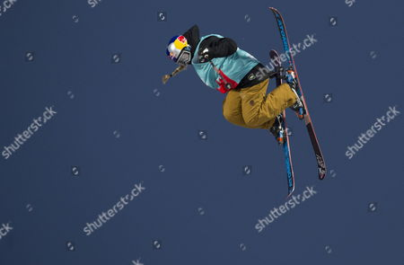 Bronze medalist Devin Logan of the USA in action during the Women's Slopestyle finals at the X-Games Hafjell 2017 in Hafjell, Norway, 09 March 2017.