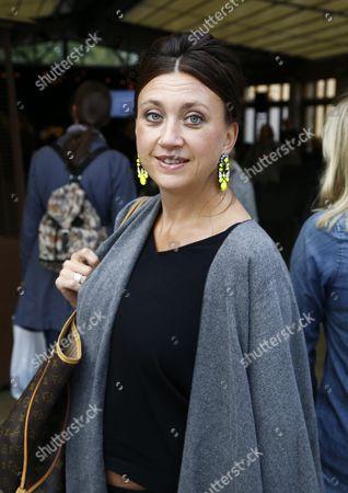 Camilla Lackberg, Swedish crime writer.