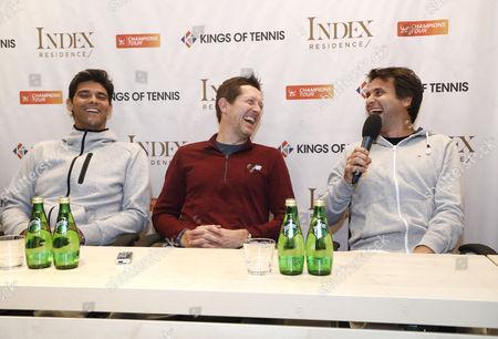Mark Philippoussis (AUS), Jonas Bjorkman (SWE), Fabrice Santoro (France)