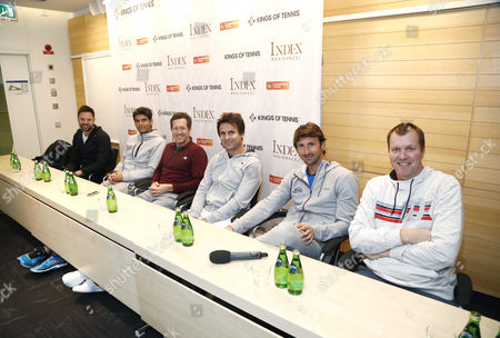 Editorial picture of Kings of Tennis press conference, Stockholm, Sweden - 07 Mar 2017