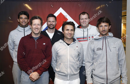 Editorial image of Kings of Tennis press conference, Stockholm, Sweden - 07 Mar 2017