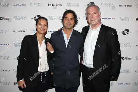 Isabelle Giordano (UniFrance), Charles Gillibert (Producer) and Jonathan Sehring (IFC Films)