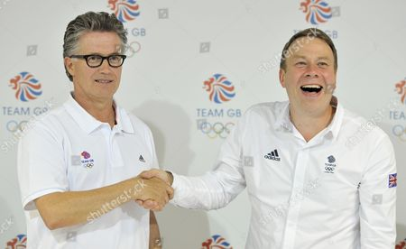 Editorial image of Team Gb Press Conference - 03 Jul 2012