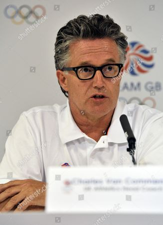 Stock Photo of Team Gb Athletics Head Coach Charles Van Commenee During A Press Conference Announcing the Great Britain Athletics Team United Kingdom London