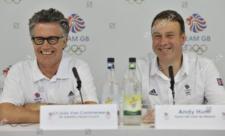 Editorial picture of Team Gb Press Conference - 03 Jul 2012