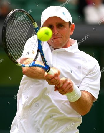 Jesse Levine of Canada in Action During the Championships Wimbledon 2013 United Kingdom London