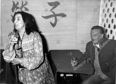 Reginald Bosanquet and wife Joan Adams