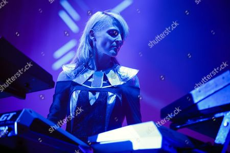 Musician Sister Bliss of British Band 'Faithless' Performs During the 40th Paleo Festival in Nyon Switzerland Late 24 July 2015 the Paleo Open-air Music Festival the Largest in the Western Part of Switzerland with Approximately 270 000 Spectators Expected in Seven Days Runs From 20 to 26 July 2015