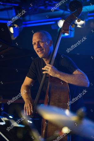 Israeli Bassist Avishai Cohen Performs During the 49th Montreux Jazz Festival in Montreux Switzerland 09 July 2015 the Music Event Runs Until 18 July