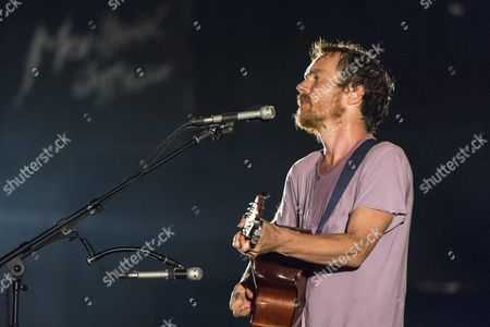 Irish Singer-songwriter and Record Producer Damien Rice Performs On the Auditorium Stravinski Stage During the 49th Montreux Jazz Festival in Montreux Switzerland Early 08 July 2015 the Music Event Runs Until 18 July