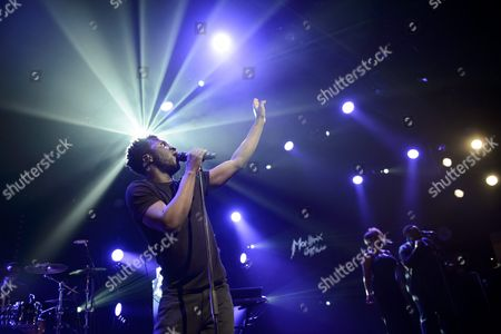British Singer Kwabena Sarkodee Adjepong Better Known by His Stage Name Kwabs Performs On the Lab Stage During the 49th Montreux Jazz Festival in Montreux Switzerland 14 July 2015 the Music Event Runs Until 18 July