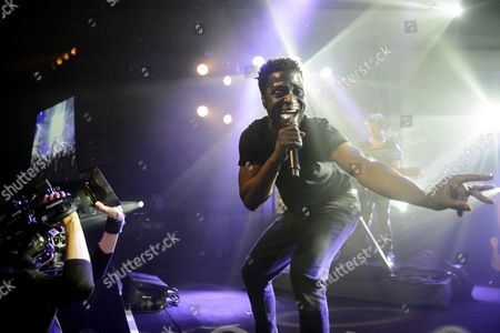 British Singer Kwabena Sarkodee Adjepong Better Known by His Stage Name Kwabs Performs On the Lab Stage Performs During the 49th Montreux Jazz Festival in Montreux Switzerland 14 July 2015 the Music Event Runs Until 18 July