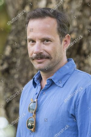 Stock Image of Greek Actor Yorgos Pirpassopoulos Poses During the Photocall For 'Chevalier' at the 68th Locarno International Film Festival in Locarno Switzerland 12 August 2015 the Festival Runs From 05 to 15 August
