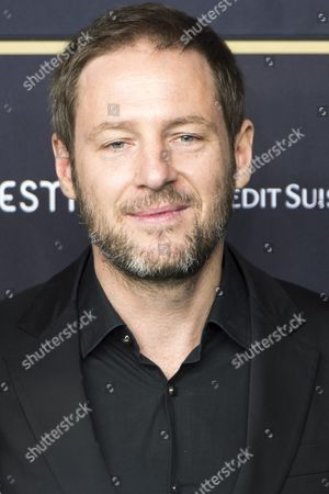 German Director Florian Gallenberger Poses On the Green Carpet Prior to the Premiere of the Movie 'Colonia' at the Zurich Film Festival (zff) in Zurich Switzerland 26 September 2015 the Festival Runs From 24 September to 04 October