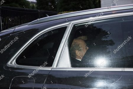 Joseph S Blatter Leaves the Fifa Headquarters in a Car in Zurich Switzerland 08 October 2015 Fifa President Joseph Blatter Vice-president and Uefa President Michel Platini and General Secretary Jerome Valcke Are Provisionally Banned For 90 Days by Fifa Ethics Committee