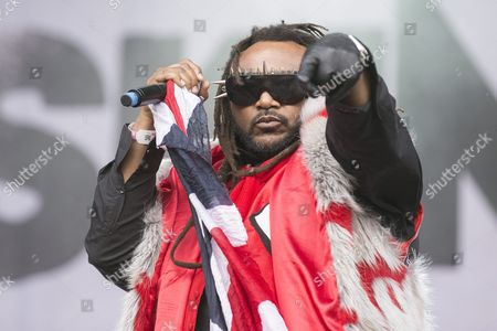 Benji Webbe Singer of Welsh Rock Band Skindred Performs at the Greenfield Festival 2015 in Interlaken Switzerland 12 June 2015 the Music Festival Runs From 11 to 13 June