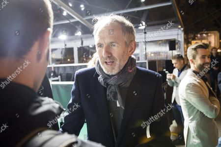 Dutch Photographer and Director Anton Corbijn (c) Signs Autographs to Fans On the Green Carpet Before the Screening of His Movie 'Life' at the Zurich Film Festival (zff) in Zurich Switzerland 28 September 2015 the Festival Runs From 24 September to 04 October
