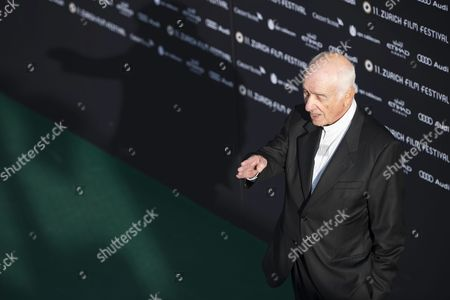 German Actor Musician Painter and Writer Armin Mueller-stahl Poses For the Photographers On the Green Carpet Before the Screening of the Movie 'Night On Earth' and a Lifetime Achievement Award Ceremony During the Zurich Film Festival (zff) in Zurich Switzerland 28 September 2015 the Festival Runs From 24 September to 04 October