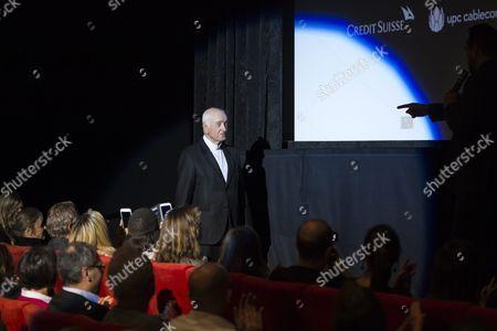 German Actor Musician Painter and Writer Armin Mueller-stahl On His Way to the Stage to Receive a Lifetime Achievement Award During the Zurich Film Festival (zff) in Zurich Switzerland 28 September 2015 the Festival Runs From 24 September to 04 October